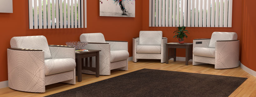 One size doesn t fit all 3 reasons to choose custom - Commercial grade living room furniture ...